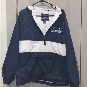 Sorority rain jacket